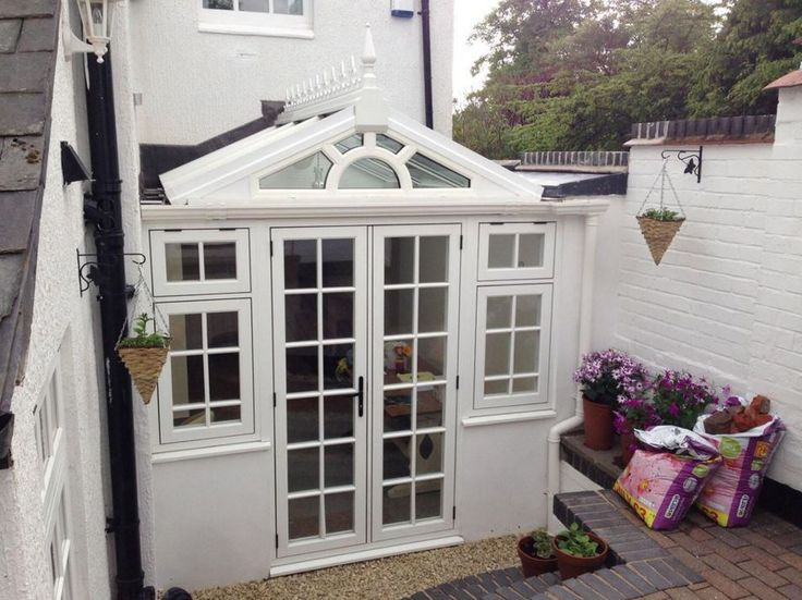 Sweet Residence 9 conservatory in Grained White