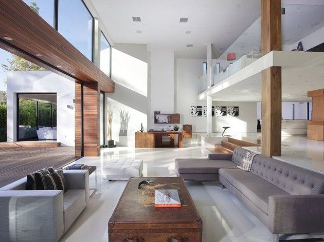 1060 Woodland Drive in Beverly Hills  designed by Mauricio Umansky: Contemporary Home, Open Plans, Living Rooms, Modern Living, Living Spaces, Open Spaces, Interiors Design, Bachelor Pads, Beverly Hill