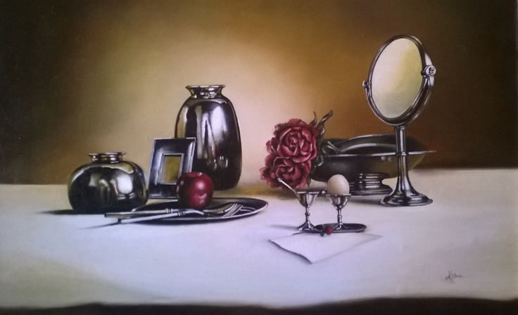 Still life N 217,Oil Painting, 50x70 cm, 2010