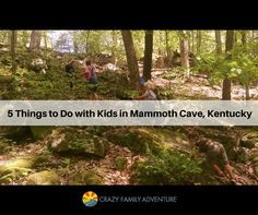 Mammoth Cave in Kentucky is a great place to explore amazing caves! Here are a few other ideas when visiting Mammoth Cave!