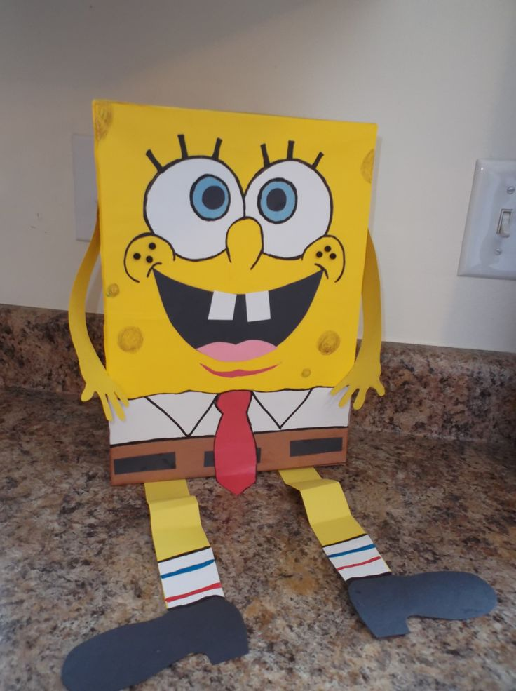 spongebob box