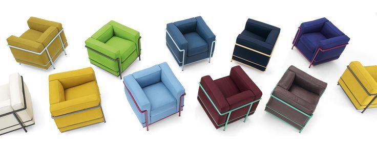 LC2 - Le Corbusier, Jeanneret, Perriand | Cassina | Italian furniture  design, Luxury interior design, Furniture