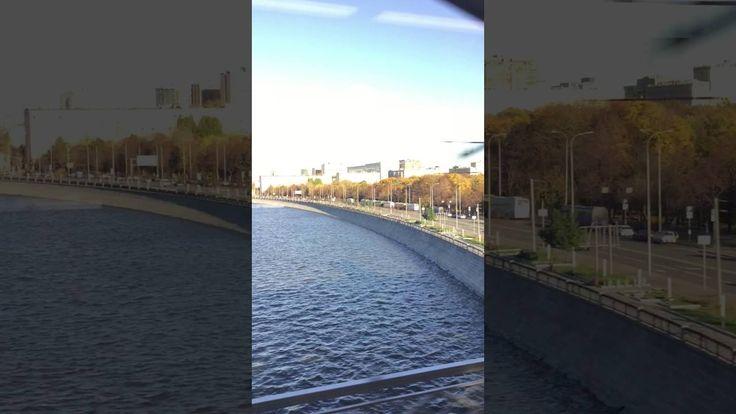 Москва из окна поезда МЦК