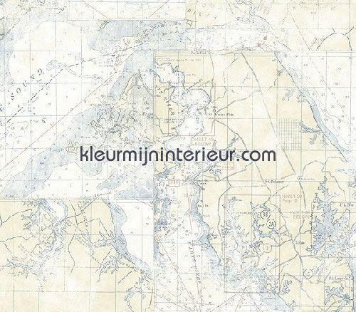 Zeekaart TH21701 | Themes of Life II Wallquest | kleurmijninterieur.nl