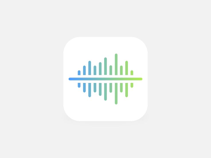 Dribbble - Wave Icon 2 iOS 7 by Aaron Ng