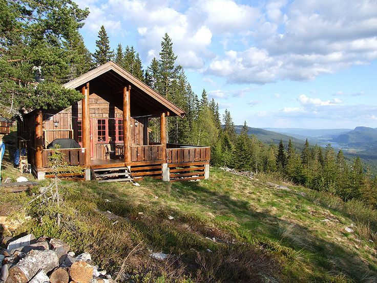 Cabin in Eggedal. Fully equipped cabin is situated 700 meters above sea level, approx. 7 km from the village of Eggedal towards Tempelseter.