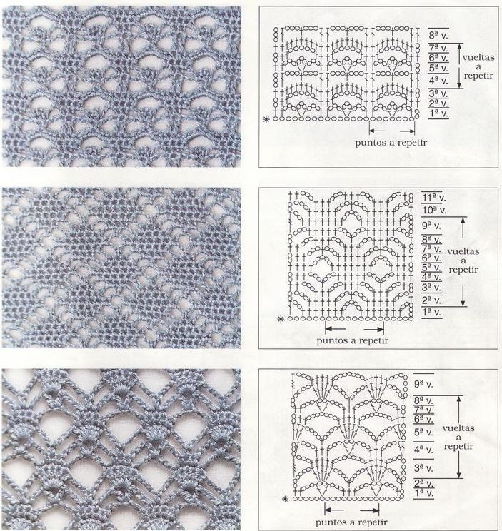diamond crochet stitches