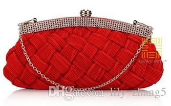 Inlayed Crystal Ol Lady'S Clutch Bag Bridal Bag Knitted Evening Bag Womens Bags Fiorelli Handbags From Lily_zhang5, $14.08| Dhgate.Com