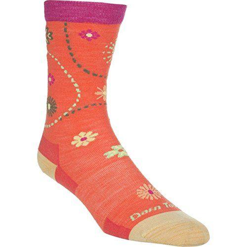 (ダーンタフ) Darn Tough レディース インナー ソックス Merino Wool Spring Garden Light Sock 並行輸入品  新品【取り寄せ商品のため、お届けまでに2週間前後かかります。】 カラー:Coral カラー:ブラウン