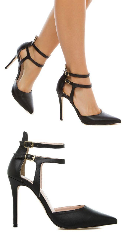 Super cute black heels