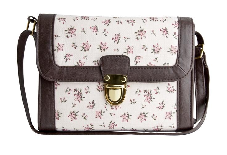 Name: Floral Lock Satchel   Item Number: 4603211044  Price: £12