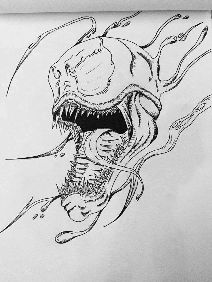 Carnage head concept