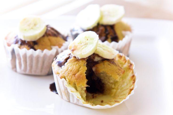 Recept: Chocolade banaan cupcakes