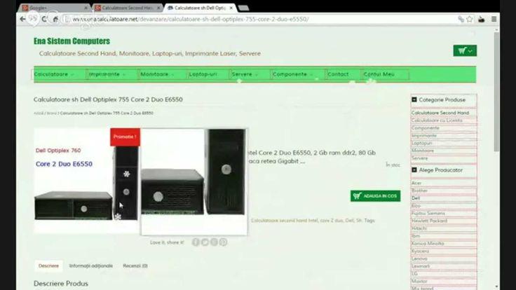 Calculatoare Second Hand Dell Optiplex 755 | Oferta Calculatoare Sh Dell...