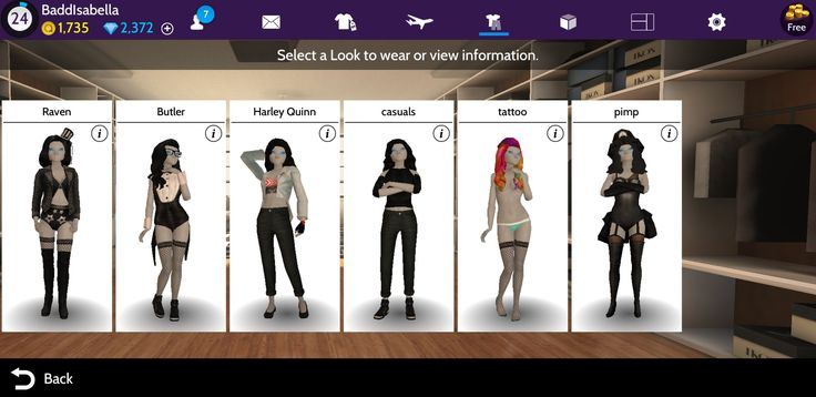 Avakin Life... I like how you can save outfits etc... Cute lil game to play on your portable devices