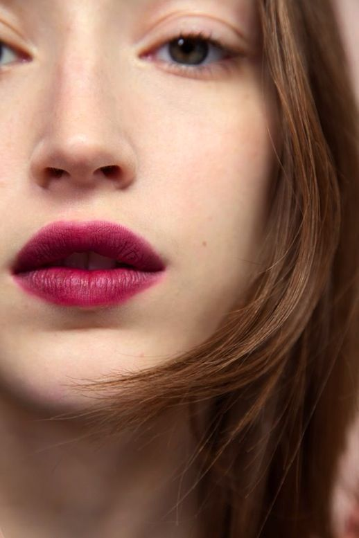 Beauty Crush: Fresh Face With Berry Lips