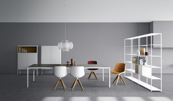With it's simple but sofisticated design MDF Italia's furnitures create a unique athmosfere in the living room.
