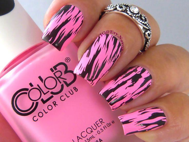 #uñasestampadas #sexynails #moda #estilo #style #fashion #fashionnails #neon #neonpolish #neonnails #summernails  #pinkneon #pinknails