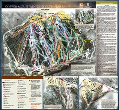 Breckenridge Ski Resort Ski Trail Map - Breckenridge Colorado United States • mappery