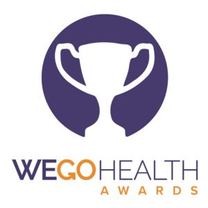 Honored to be nominated for #WEGOHealthAwards for the Blog and the Podcast, I would so appreciate your endorsement! https://awards.wegohealth.com/nominees/13151