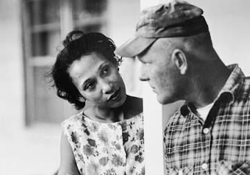 Mildred & Richard Loving, who this month 1967 got Supreme Court to strike down laws vs. interracial marriage: