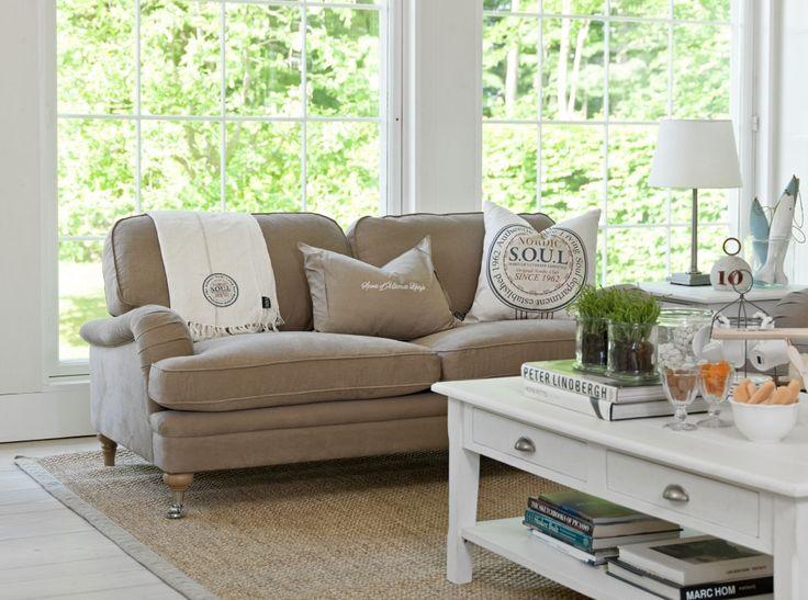 Edmont Fixed Cover Sofa – Meyer and Marsh #livingroom #livingroomdecor #lounge #livingroomdesign