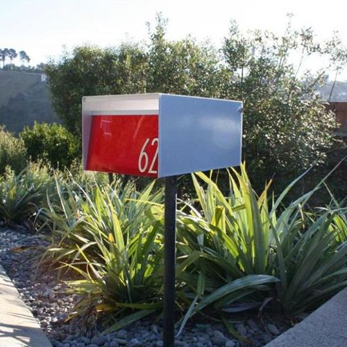 13 best Mailboxes images on Pinterest Modern mailbox Mail boxes