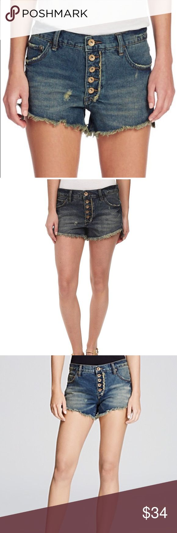 Free People Cut off Denim Shorts Jillian Blue B39 Free People Cutoff Denim Shorts Jillian Blue. 100% cotton. Button Fly. Daisy Dukes from Free People...could it get any better? Free People Shorts Jean Shorts