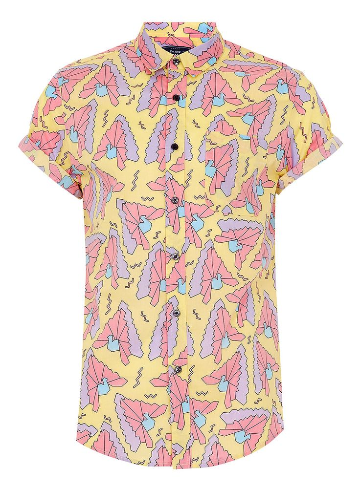 559 best printed and patterned shirts images on pinterest for Mens short sleeve patterned shirts