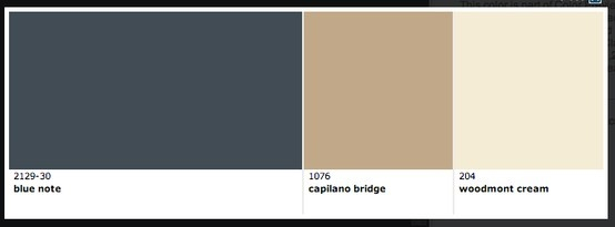 Blue Note Benjamin Moore 212930  paint  House colors
