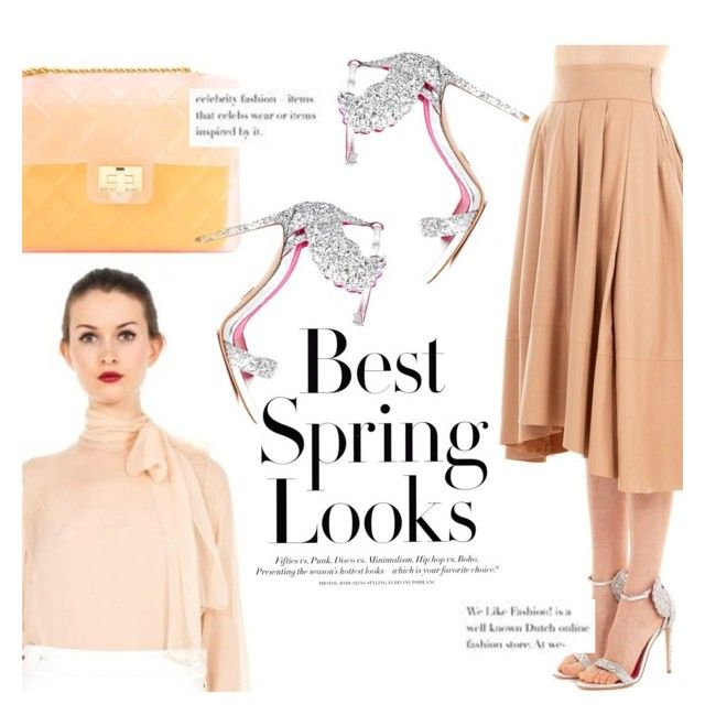 Spring look ! by thequeenstore on Polyvore featuring moda, Unfleur, Oscar Tiye, Emilio Pucci, Design Inverso