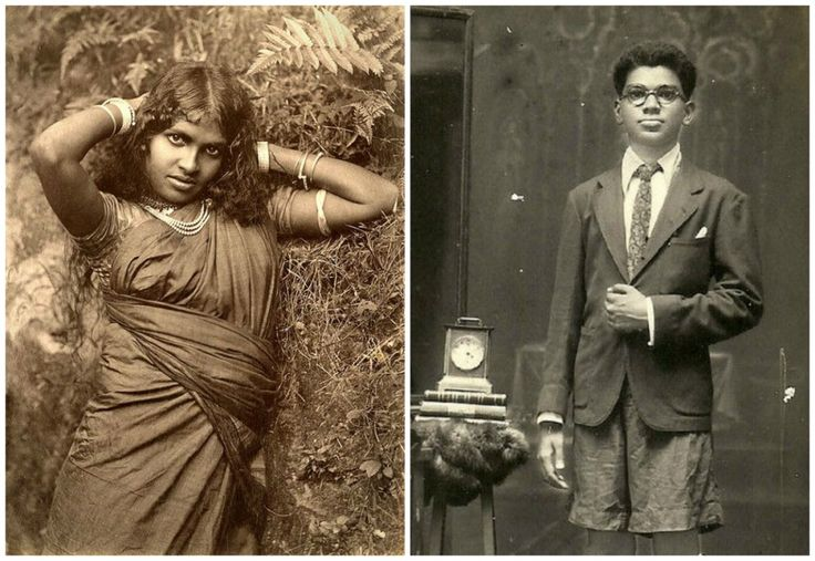 India  What young people looked like 100 years ago