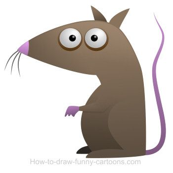 Cartoon rats are not the most popular animals on earth. It's still a cute illustration! :)