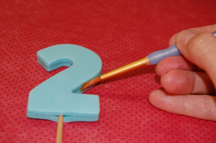 Fondant Number tutorial- great idea!