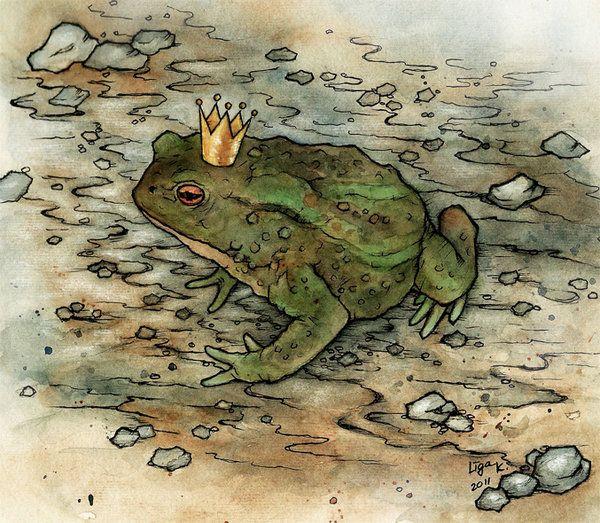 The Frog prince by ~liga-marta on deviantART