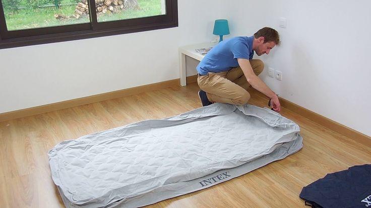I materassi Intex si sgonfiano e si gonfiano in un pochissimo tempo. Dite basta ai vecchi materassi da capeggio! Scegliete Intex e dormirete su un letto comodo e resistente!   #materasso #gonfiabile #intex #raviday #sgonfiamento #gonfiamento #veloce #semplice #noperditempo #64462