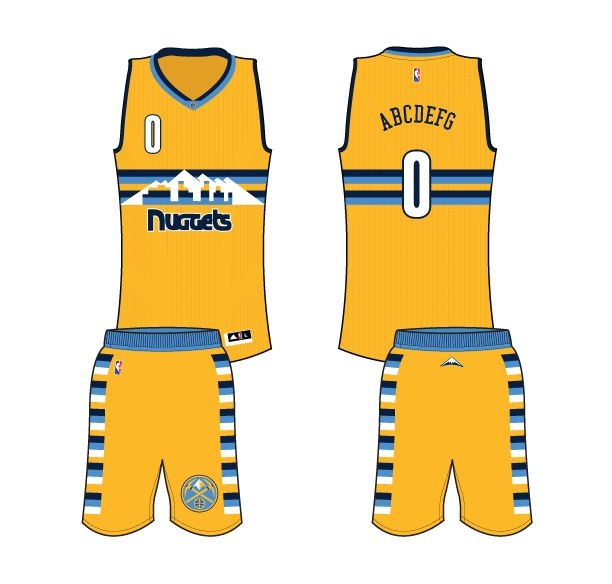 25 Best Denver Nuggets All Jerseys And Logos Images On