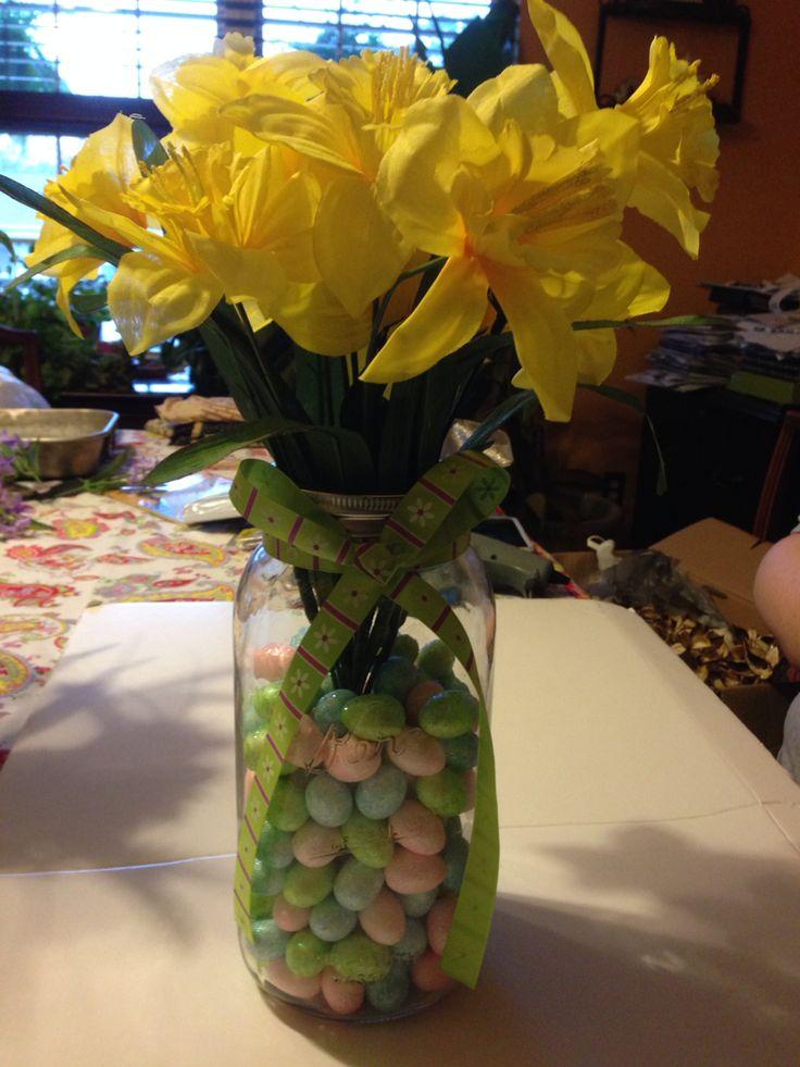 Spring/Easter centerpiece
