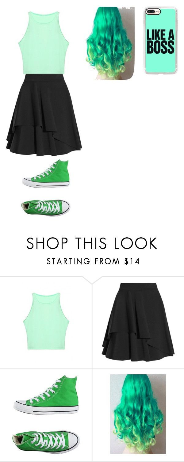 """""""Jacksepticeye"""" by midnight952857 ❤ liked on Polyvore featuring Alexander McQueen, Converse and Casetify"""