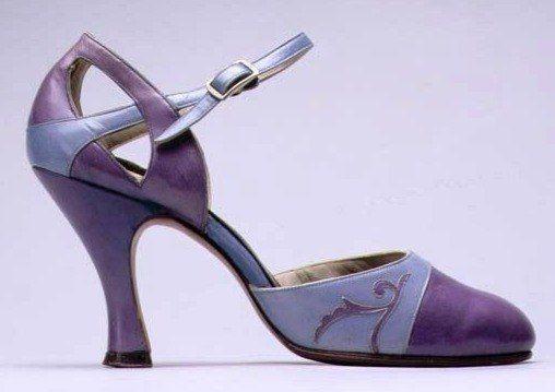 Туфли 1920-х годов.