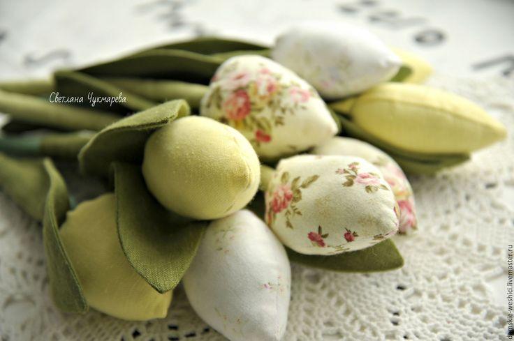Купить Тюльпаны Тильда - весна, весенний подарок, подарок на 8 марта, подарок подруге