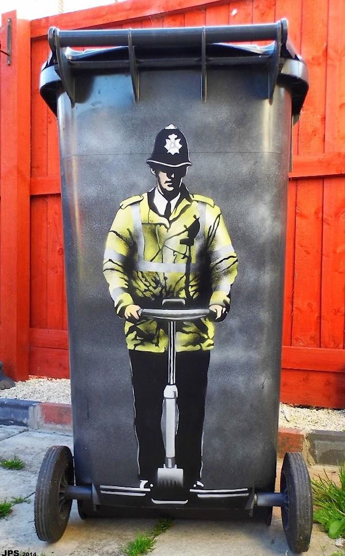 Streetart: The Works of UK-based Street Artist JPS