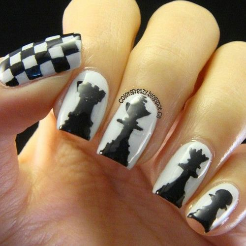 27 Funky Nail Art Designs Ideas