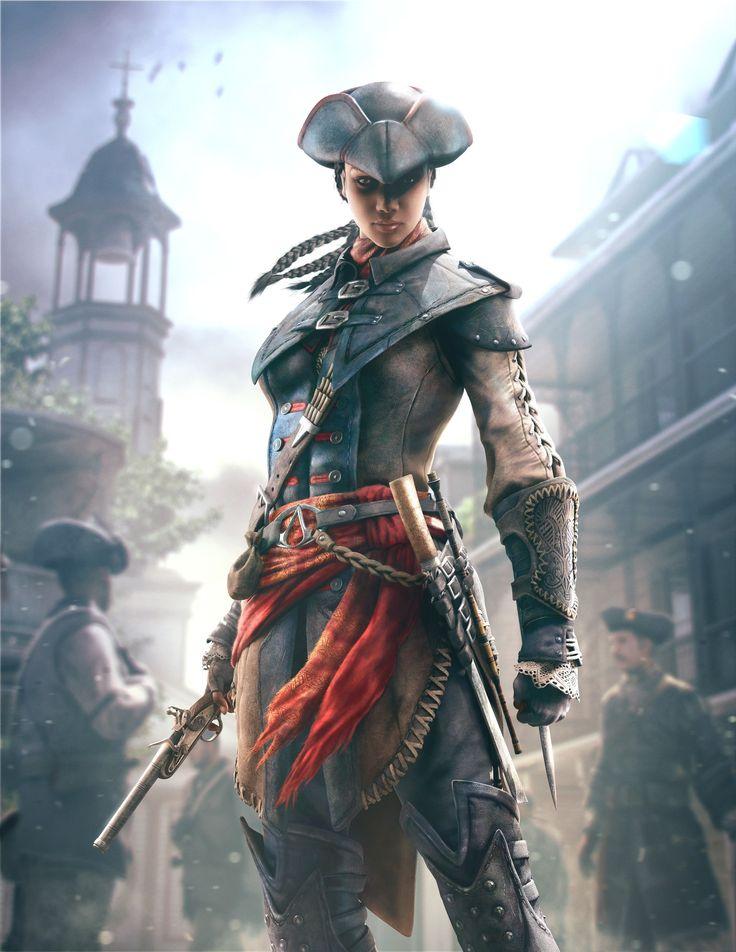 Assassin's Creed 3 : Liberation - Aveline de Grandpre