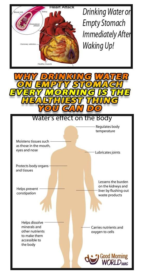 – When you wake up, the first thing that you will do is not brushing your teeth, but drinking 160 ml water 4 times instead, and in the following 45 minutes it is prohibited to eat or drink anything else. You may take your breakfast after 45 minutes, and after each meal, do not eat anything for the next 120 minutes.