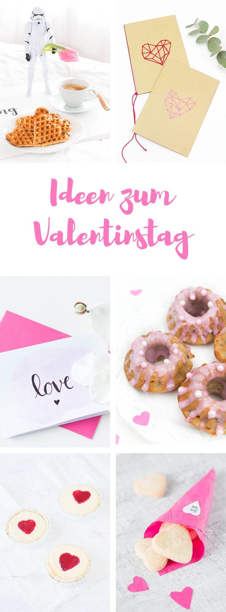 Tolle DIY Geschenke und leckere Rezepte für den Valentinstag! So machst du den Tag für Verliebte unvergesslich!