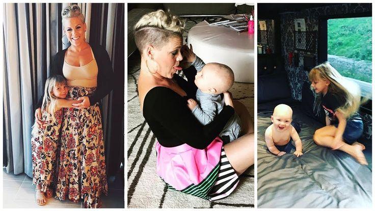 Pink's Kids ( Son Jameson Moon Hart & Daughter Willow Sage Hart ) | 2017...