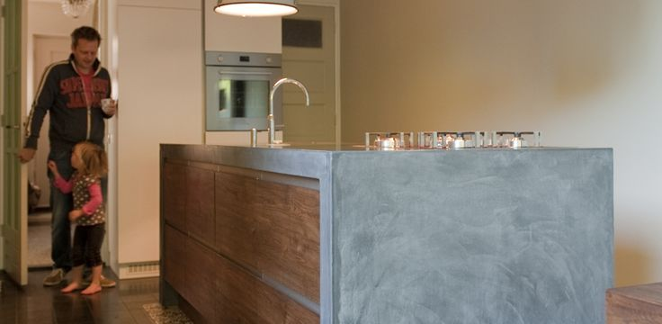 betonlook keukeneiland