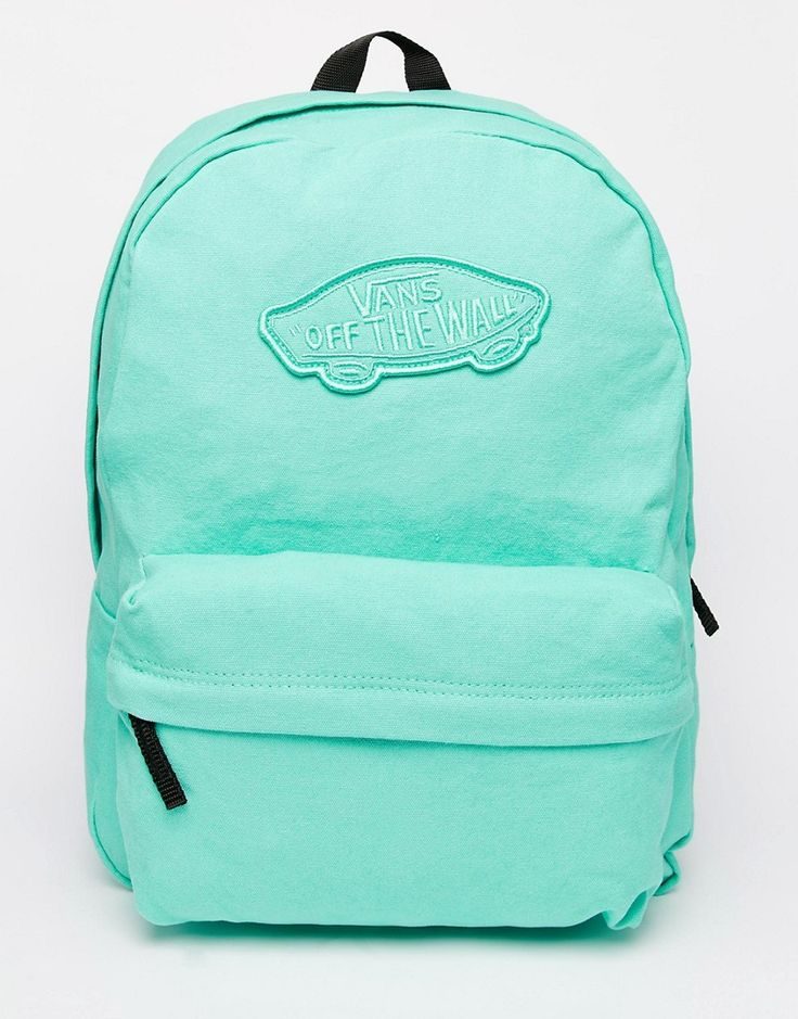 Vans+Realm+Backpack+in+Mint+Green