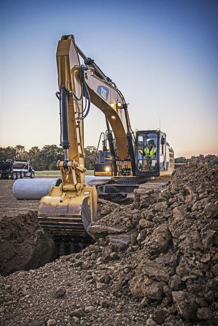 Caterpillar Unveils First Hybrid Excavator Story Id